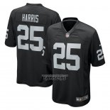 Camiseta NFL Game Las Vegas Raiders Erik Harris Negro