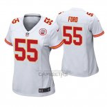Camiseta NFL Game Mujer Kansas City Chiefs Dee Ford Blanco