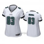 Camiseta NFL Game Mujer Philadelphia Eagles Jack Driscoll Blanco