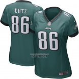 Camiseta NFL Game Mujer Philadelphia Eagles Zach Ertz Verde