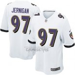 Camiseta NFL Game Nino Baltimore Ravens Jernigan Blanco