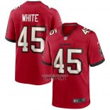 Camiseta NFL Game Tampa Bay Buccaneers Devin White Rojo