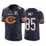 Camiseta NFL Limited Chicago Bears Kmet Big Logo Number Azul