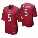 Camiseta NFL Game Houston Texans Aj Mccarron Rojo