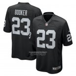 Camiseta NFL Game Las Vegas Raiders Devontae Booker Negro