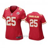 Camiseta NFL Game Mujer Kansas City Chiefs Clyde Edwards Helaire Rojo