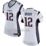 Camiseta NFL Game Mujer New England Patriots Brady Blanco