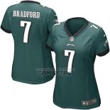 Camiseta NFL Game Mujer Philadelphia Eagles Bradford Verde