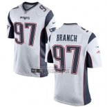 Camiseta NFL Game Nino New England Patriots Branch Blanco