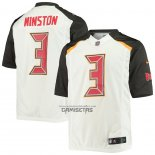 Camiseta NFL Game Tampa Bay Buccaneers Jameis Winston Limited Blanco