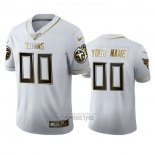 Camiseta NFL Limited Tennessee Titans Personalizada Golden Edition Blanco