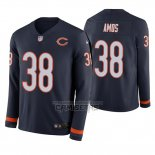 Camiseta NFL Therma Manga Larga Chicago Bears Adrian Amos Azul