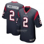 Camiseta NFL Game Houston Texans Aj Mccarron 2 Azul