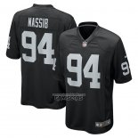 Camiseta NFL Game Las Vegas Raiders Carl Nassib Negro