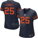 Camiseta NFL Game Mujer Chicago Bears Carey Azul