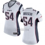 Camiseta NFL Game Mujer New England Patriots Bruschi Blanco
