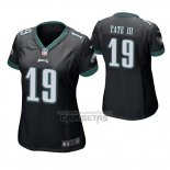 Camiseta NFL Game Mujer Philadelphia Eagles Golden Tate Negro
