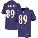 Camiseta NFL Game Nino Baltimore Ravens Mark Andrews Violeta