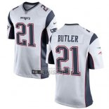 Camiseta NFL Game Nino New England Patriots Butler Blanco