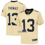 Camiseta NFL Game Nino New Orleans Saints Michael Thomas Inverted Oro
