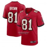 Camiseta NFL Game Tampa Bay Buccaneers Antonio Brown Rojo