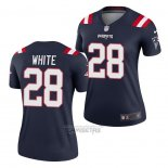 Camiseta NFL Legend Mujer New England Patriots James White Azul