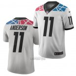 Camiseta NFL Limited Carolina Panthers Robby Anderson Ciudad Edition Blanco