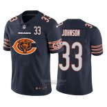 Camiseta NFL Limited Chicago Bears Johnson Big Logo Number Azul