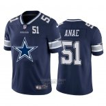 Camiseta NFL Limited Dallas Cowboys Anae Big Logo Number Azul