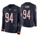 Camiseta NFL Therma Manga Larga Chicago Bears Leonard Floyd Azul