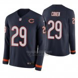 Camiseta NFL Therma Manga Larga Chicago Bears Tarik Cohen Azul