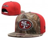 Gorra San Francisco 49ers Marron Rojo