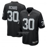 Camiseta NFL Game Las Vegas Raiders Jalen Richard Negro