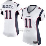 Camiseta NFL Game Mujer New England Patriots Bledsoe Blanco