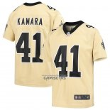 Camiseta NFL Game Nino New Orleans Saints Alvin Kamara Inverted Oro