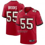 Camiseta NFL Game Tampa Bay Buccaneers Derrick Brooks Retired Rojo