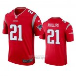 Camiseta NFL Legend New England Patriots Adrian Phillips Inverted Rojo