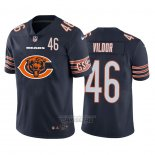 Camiseta NFL Limited Chicago Bears Vildor Big Logo Number Azul