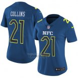 Camiseta NFL Mujer Pro Bowl NFC Collins 2017 Azul