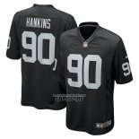 Camiseta NFL Game Las Vegas Raiders Johnathan Hankins Negro