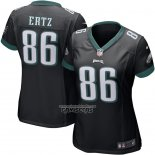 Camiseta NFL Game Mujer Philadelphia Eagles Zach Ertz Negro