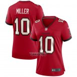Camiseta NFL Game Mujer Tampa Bay Buccaneers Scotty Miller Rojo