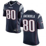 Camiseta NFL Game Nino New England Patriots Amendola Negro