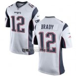 Camiseta NFL Game Nino New England Patriots Brady Blanco