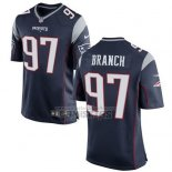 Camiseta NFL Game Nino New England Patriots Branch Negro