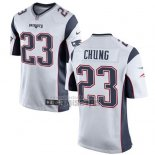 Camiseta NFL Game Nino New England Patriots Chung Blanco