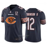 Camiseta NFL Limited Chicago Bears Robinson II Big Logo Number Azul