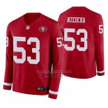 Camiseta NFL Therma Manga Larga San Francisco 49ers Mark Nzeocha Rojo