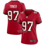 Camiseta NFL Game Mujer Tampa Bay Buccaneers Zach Triner Rojo