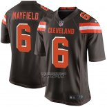 Camiseta NFL Game Nino Cleveland Browns Baker Mayfield Marron